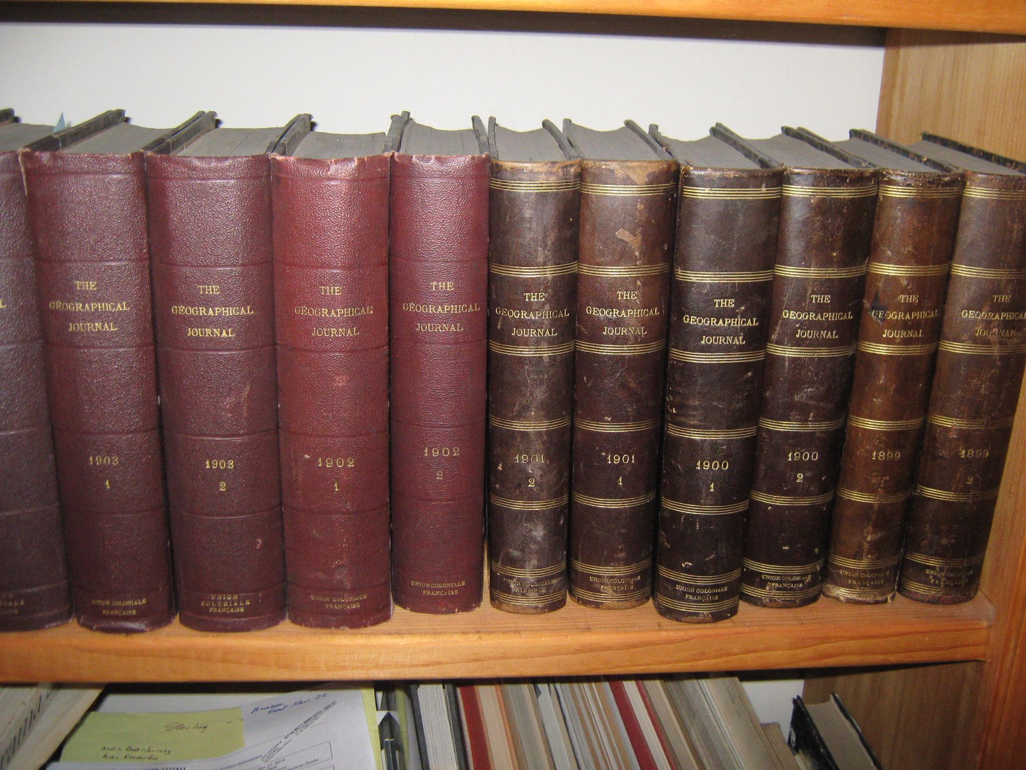 The Geographical Journal, Including the Proceedings of the Royal Geographical Society, 34 Bound Books, 1893-1909